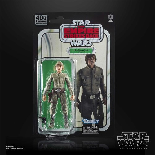 HASBRO Luke Skywalker (Bespin) – Star Wars: The Empire Strikes Back 40th Anniversary Action Figure – The Black Series