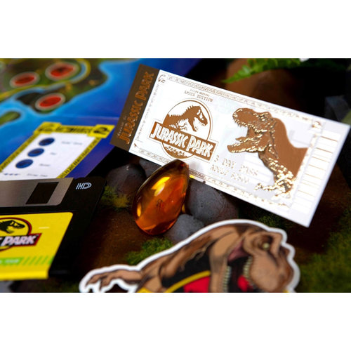dr.collector Jurassic Park: Welcome Kit Amber Edition