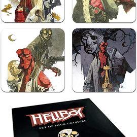 darkhorse Dark Horse Deluxe Hellboy Coaster Set, Multicolor