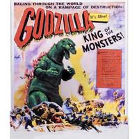 Godzilla – 12″ Head to Tail Action Figure – 1956 Movie Poster Godzilla