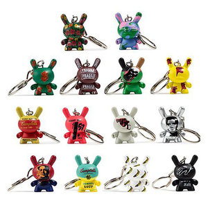 Kidrobot Warhol: 1.5 inch Dunny Keychain Series (price for 1 piece)
