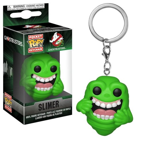 FUNKO Pocket Pop Keychains: Ghostbusters - Slimer