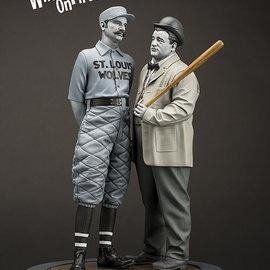 Infinite Statue Abbot & Costello old & rare 1/6 resin statue