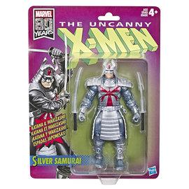 HASBRO X-Men Marvel Retro Collection Silver Samurai Figure