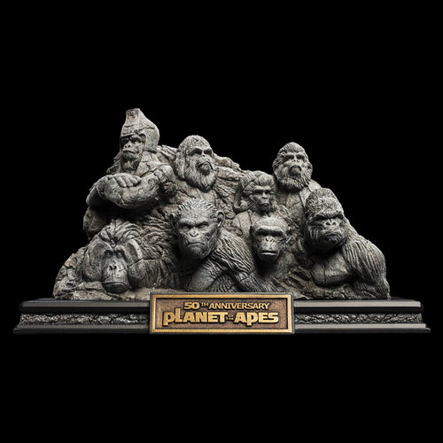 WETA Workshops Planet of the Apes: Apes Through the Ages Statue
