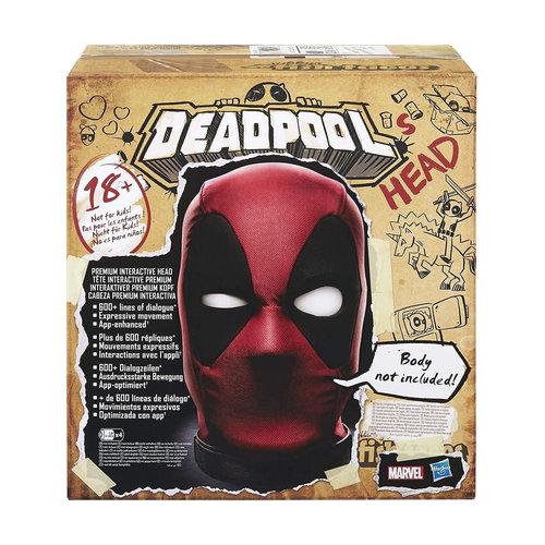 HASBRO Marvel Legends Deadpool Premium Interactive Head