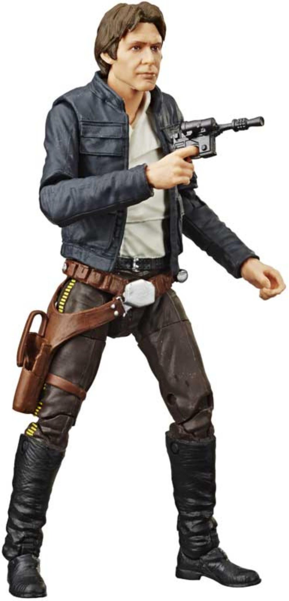 HASBRO Star  Wars  40TH Anniversary  E5 Han Solo
