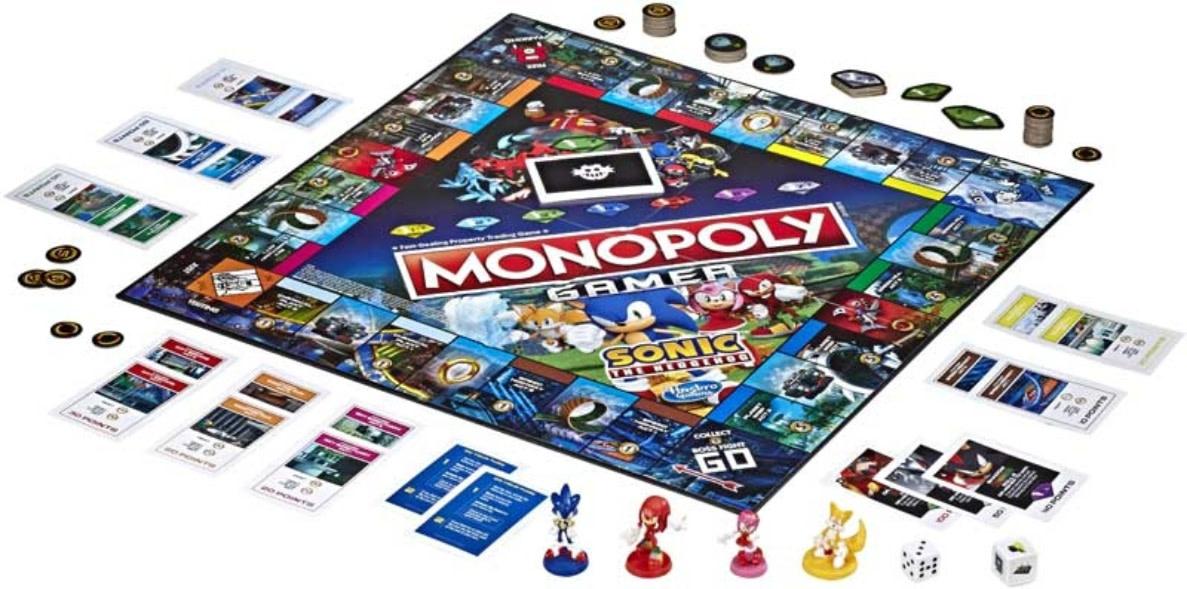 HASBRO Monopoly  Sonic  Gamer
