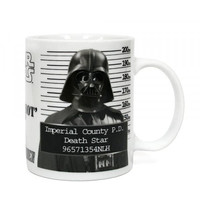 Star Wars: Darth Vader Police Record Mug
