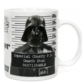 SD Toys Star Wars: Darth Vader Police Record Mug