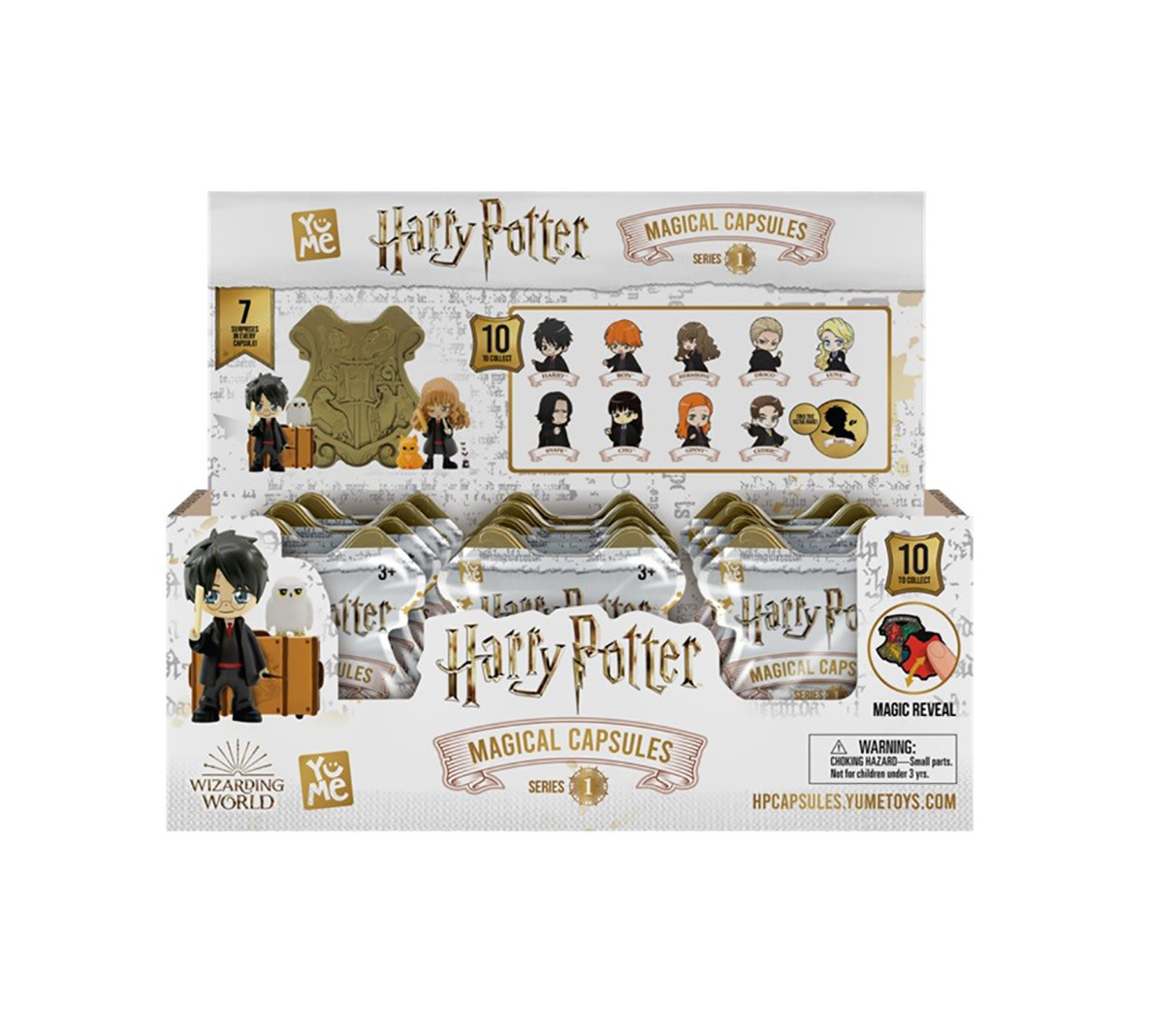 MAXX MARKETING Harry Potter: Magical Mystery Capsules  (Price per piece)