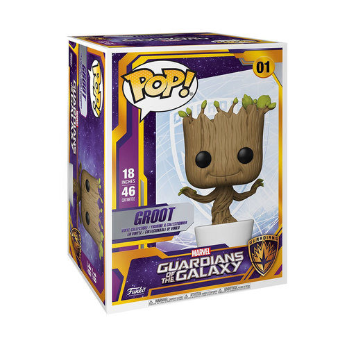 FUNKO Pop! Marvel: Guardians of the Galaxy - 18 inch Dancing Groot