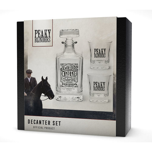 Hole In The Wall Peaky Blinders Decanter Set