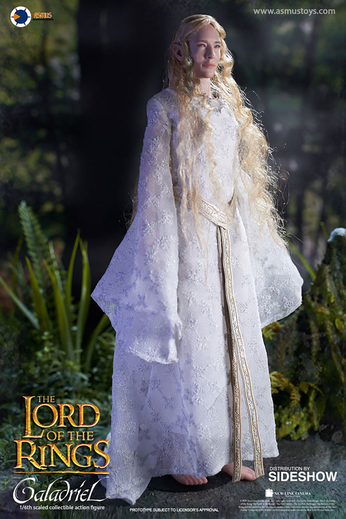 Hottoys Lord of the Rings: Galadriel 1:6 Scale Figure