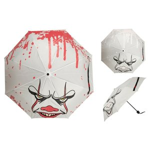 Bioworld IT: Raining Blood Pennywise Liquid Reactive Umbrella