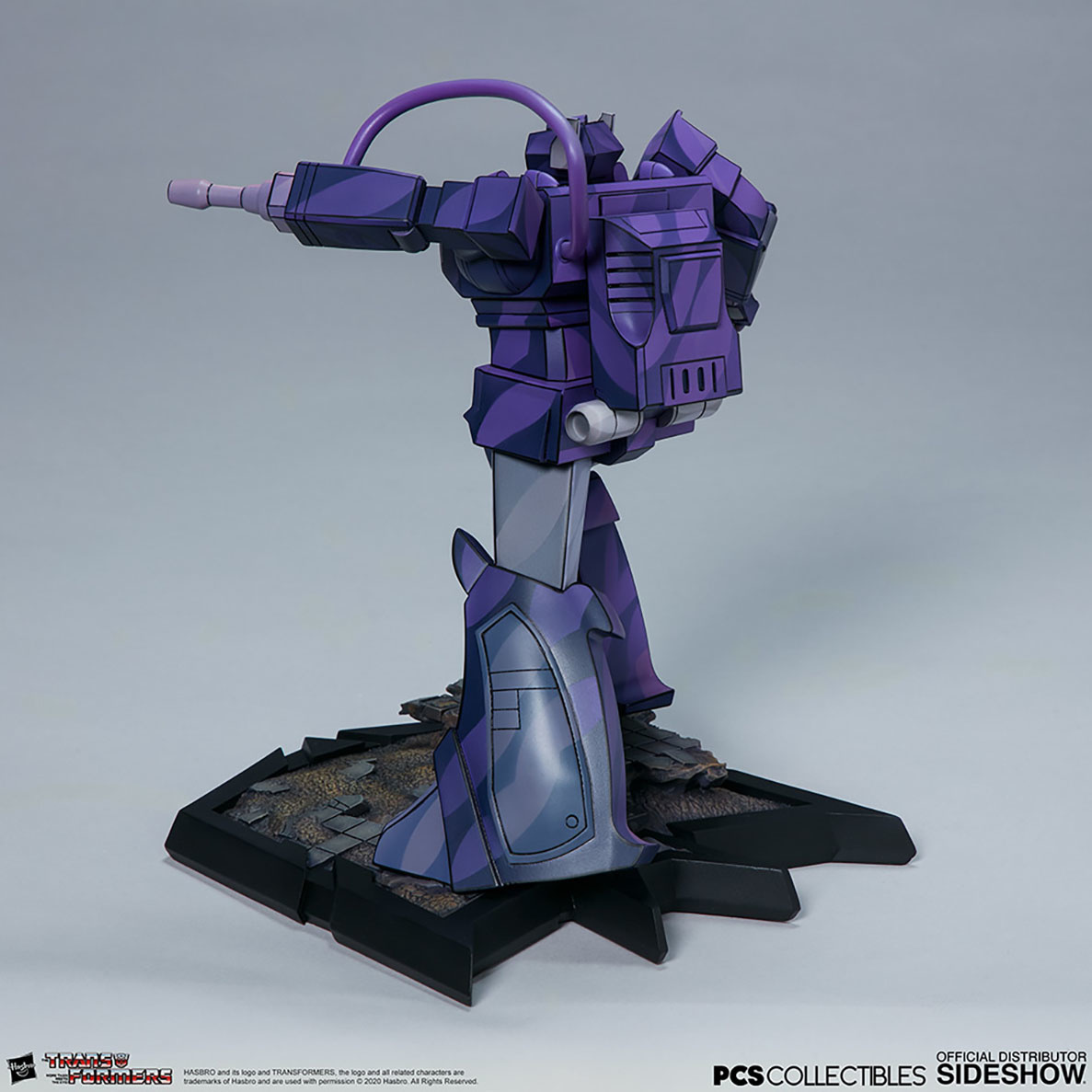 Sideshow Transformers: Shockwave Classic Scale Statue