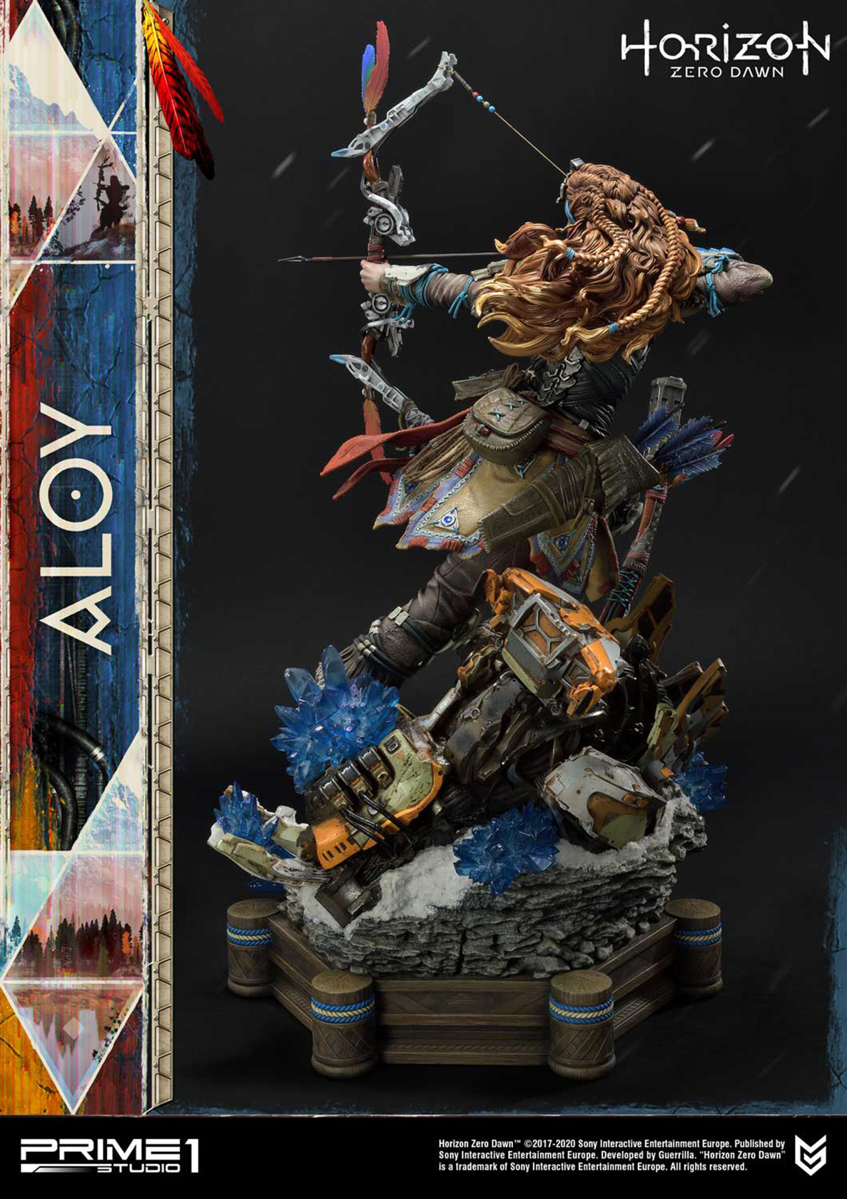 Prime 1 Studio Horizon Zero Dawn: Aloy Shield Weaver Armor Set 1:4 Scale Statue