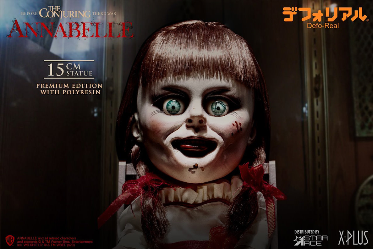 Star Ace Annabelle: Defo-Real Annabelle Statue
