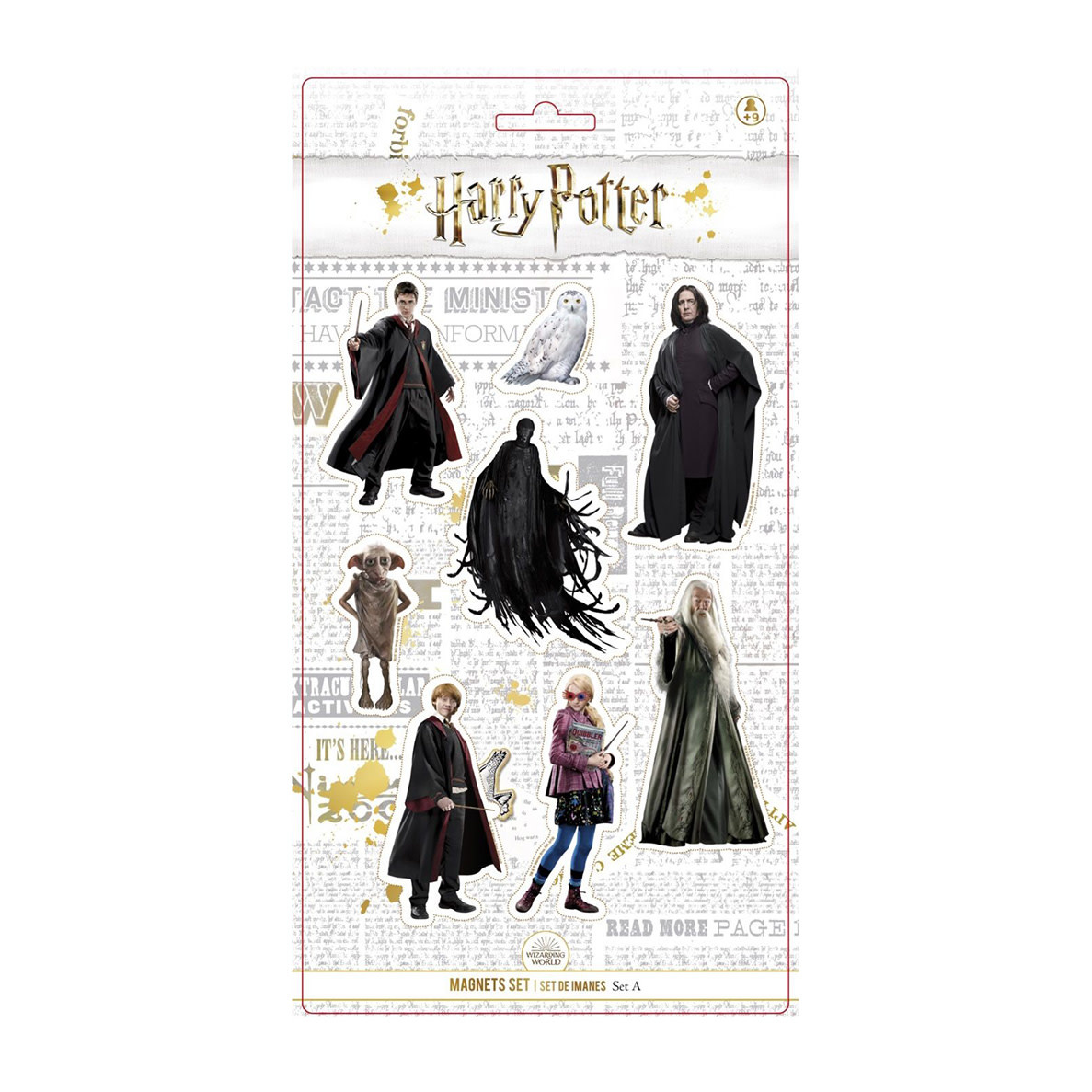 SD Toys Harry Potter: Characters Magnet Set A