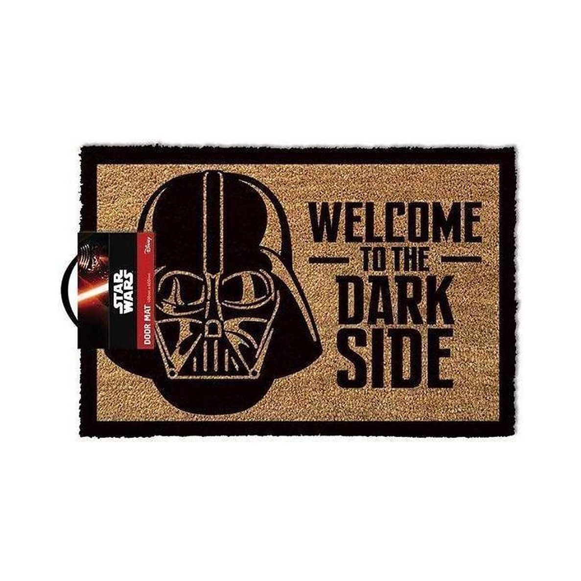 Hole In The Wall Star Wars Welcome To The Darkside - Doormat