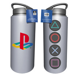 Hole In The Wall Playstation Buttons Aluminium Drink Bottle