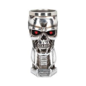 Nemesis Now Ltd Terminator - T-800 Head Goblet 17cm