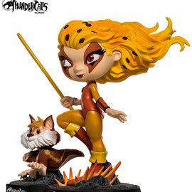 Iron Studios Thundercats: Cheetara and Snarf Minico PVC Statue