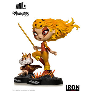 Iron Studios Thundercats: Cheetara and Snarf Minico PVC Statue
