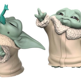 HASBRO Star Wars The Mandalorian - Baby Yoda (2 Pack - The Child Froggy Force 5,5 CM)