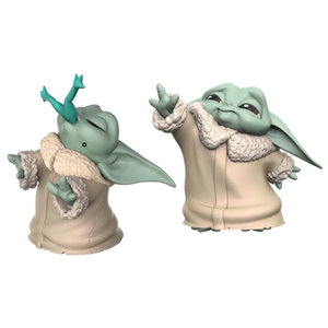 HASBRO Copy of Star Wars The Mandalorian - Baby Yoda (2 Pack - The Child Soup & Blanket 5,5 CM)