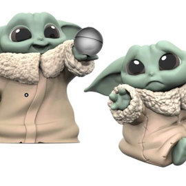 HASBRO Star Wars The Mandalorian - Baby Yoda (2 Pack - The Child Hold Me & Ball Toy 5,5 CM)