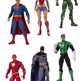 Sideshow Toys DC Comics Essentials: Justice League Action Figure 6-Pack