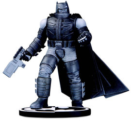 Sideshow Toys DC Comics: Batman Black and White Armored Batman Statue by F. Miller