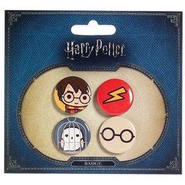 The Carat Shop Harry Potter Cutie Button Badge Set BBC0089