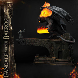 Prime 1 Studio Lord of the Rings: Gandalf vs Balrog Diorama