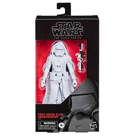 HASBRO Star Wars: Episode IX - Black Series - First Order Elite Snowtrooper Exclusive Action Figure  15 cm
