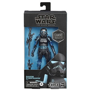 HASBRO Star Wars: The Force Unleashed -  Black Series - Shadow Stormtrooper Exclusive Action Figure