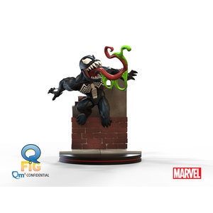Quantum Mechanix Marvel: Venom Q-Fig Diorama