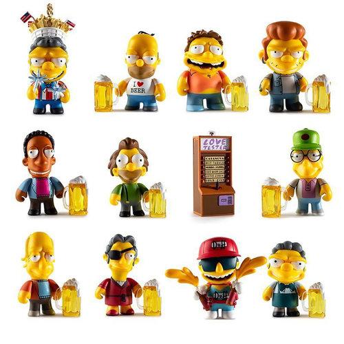Kidrobot The Simpsons: Moe's Tavern Mini Series (Price per Piece)