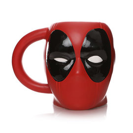 Half Moon  Bay Marvel: Deadpool Shaped Mug