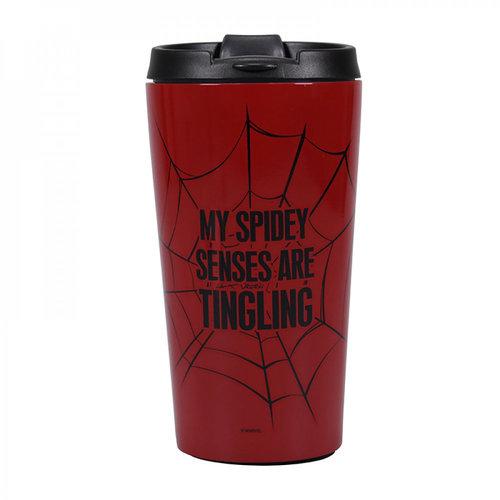 Half Moon  Bay Marvel: Spider-Man Metal Travel Mug