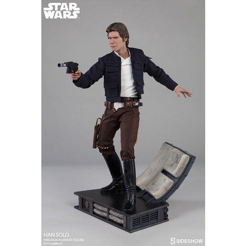 Sideshow Toys Star Wars: The Empire Strikes Back - Han Solo Premium Statue