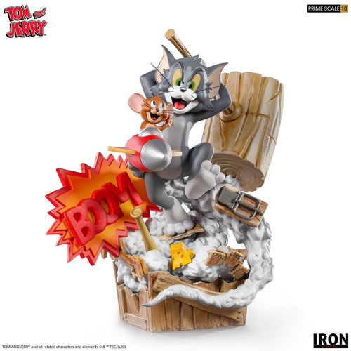 Iron Studios Tom and Jerry: Tom and Jerry 1:3 Scale Statue