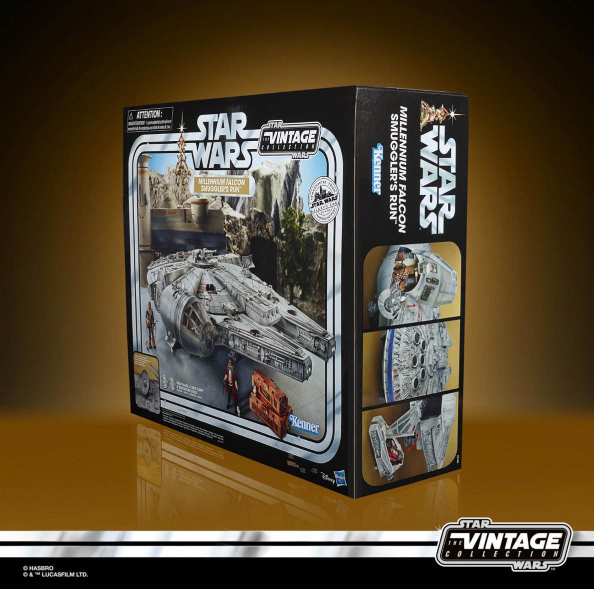 HASBRO Star Wars Vintage Collection - Galaxy's Edge Millennium Falcon Smuggler's Run
