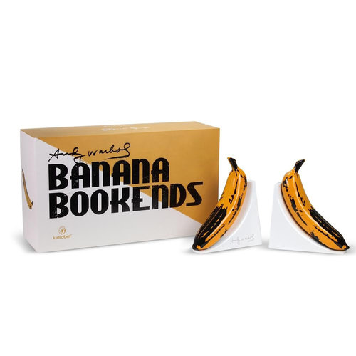 Kidrobot Andy Warhol: Resin Banana Bookends