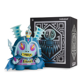 Kidrobot Dunny: Blue 8 inch Harbinger Dunny by Martin Ontiveros