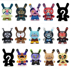 Kidrobot Dunny: Exquisite Corpse Dunny Series Asst. by Red Mutuca Studios (Price per Piece)