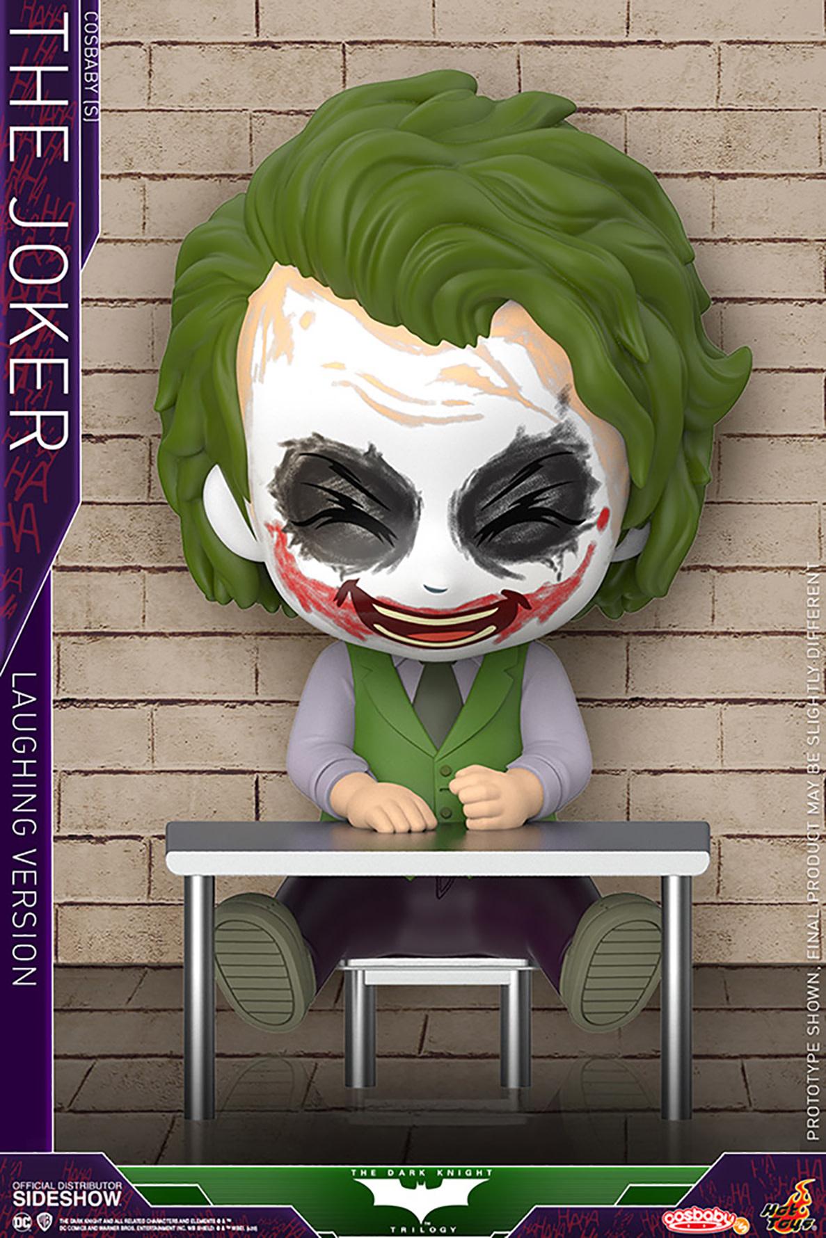 Hot Toy DC Comics: The Dark Knight Movie - Laughing Joker Cosbaby