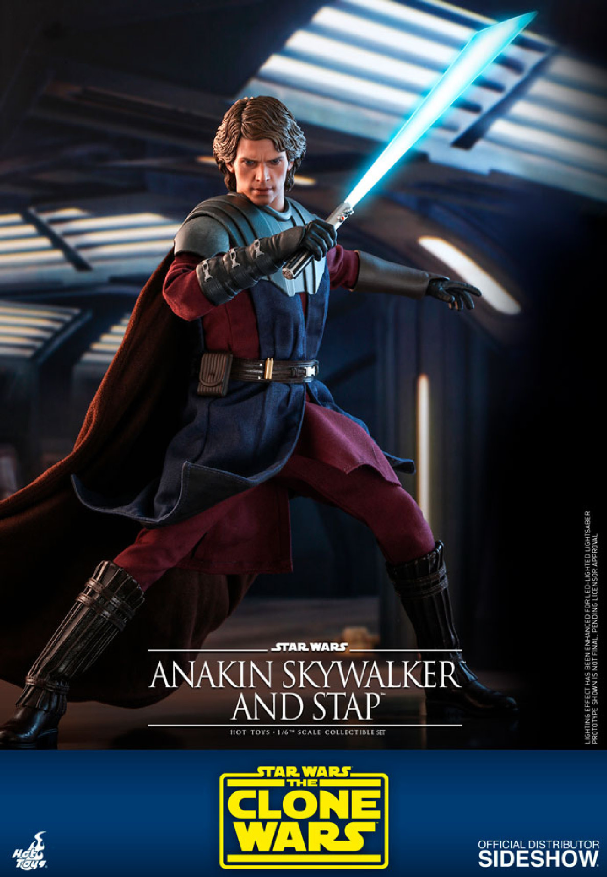 Hot toys Star Wars: The Clone Wars - Anakin Skywalker and STAP 1:6