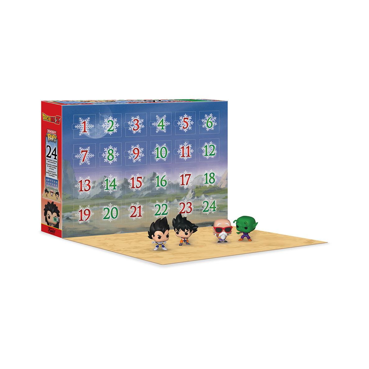 FUNKO Dragon Ball Z: Pocket Pop Advent Calendar